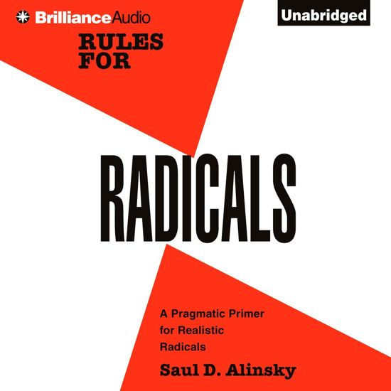 Boek cover Rules for Radicals van Saul D. Alinsky (Onbekend)