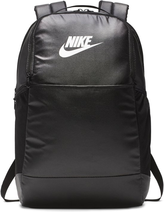 Nike  Brsla M  - 9.0 Mtrl Unisex Sporttas - Blk/Blk/(Wht)