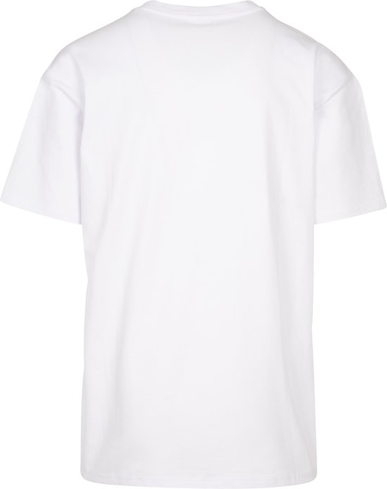 Senvi Oversized T-shirt - Kleur Wit Maat 4xl Heavy QN6ftDBc bycT76S6