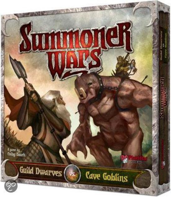 Afbeelding van het spel Summoner Wars - Guild Dwarves vs Cave Goblins