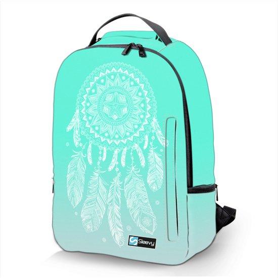 Meisjes Dames 6 Schooltas Reistas 15 Jongens Deluxe School Rugzaktas Dromenvanger Rugzak Laptop Heren Sleevy nP4WHH