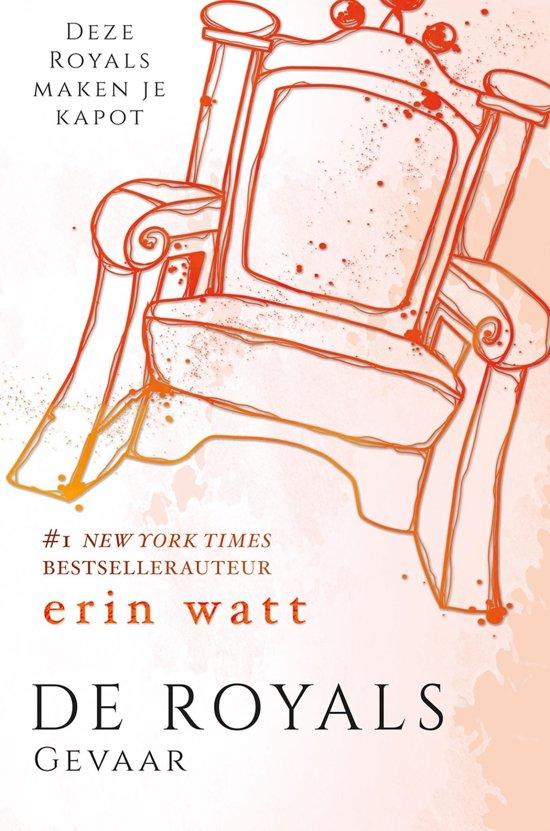 Boek cover De Royals 5 - Gevaar van Erin Watt (Onbekend)