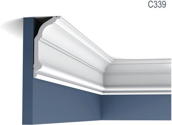 Kroonlijst Origineel Orac Decor C339 LUXXUS Plafondlijst Sierlijst 2 m