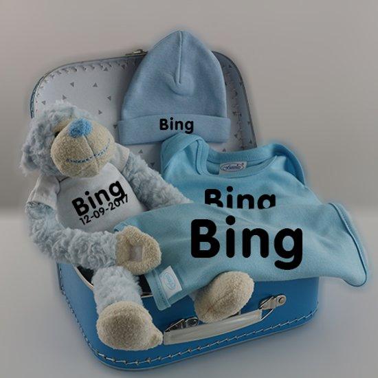 Kraampakket Bing - Koffer kraamcadeau