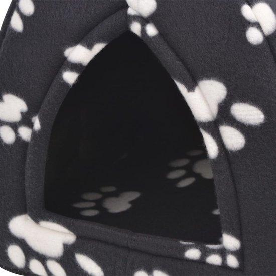 vidaXL Kattenmand maat L zwart
