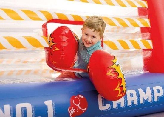 Opblaasbare boksring trampoline Jump-O-Lene (226x226x110cm)
