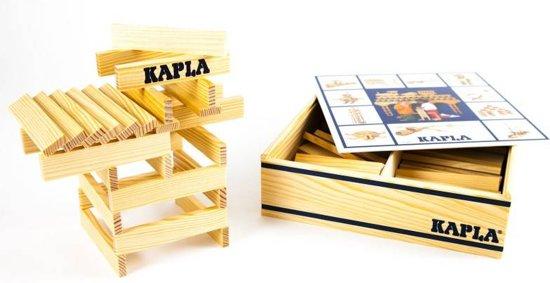 Afbeelding van Kapla houten bouwplankjes 100 blank