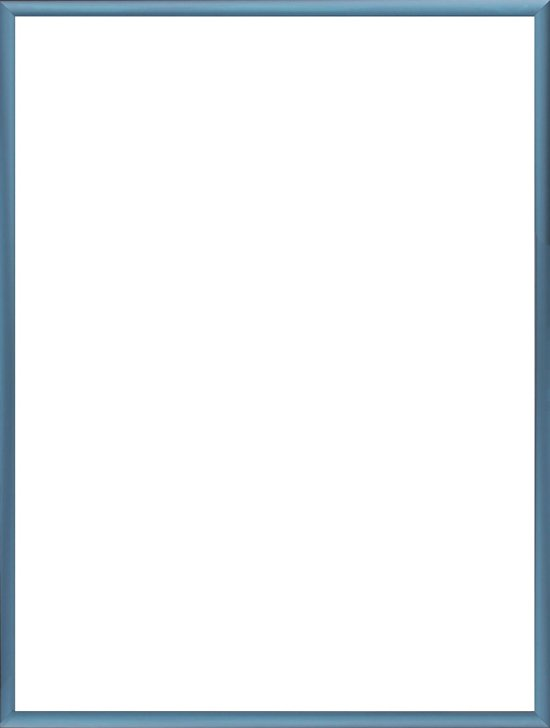 Homedecoration Almelo – Fotolijst – Fotomaat – 31 x 43 cm – Staal blauw