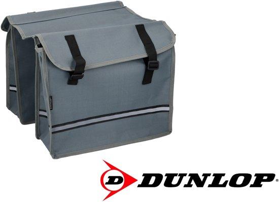 f0441ccf972 bol.com | Dunlop Dubbele Fietstas - Grijs - 26 liter