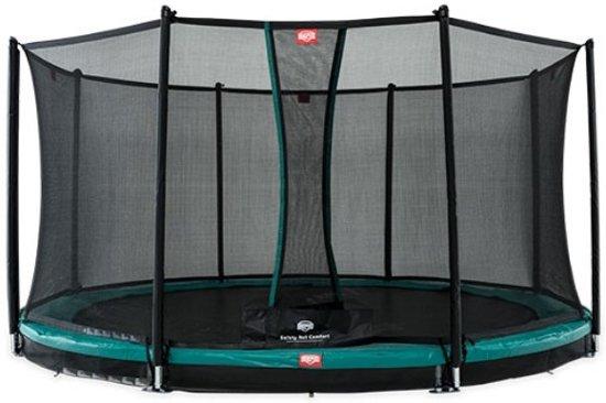 BERG Favorit InGround Trampoline à 380 cm met Veiligheidsnet Comfort