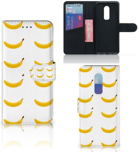 OnePlus 6 Book Cover Banana