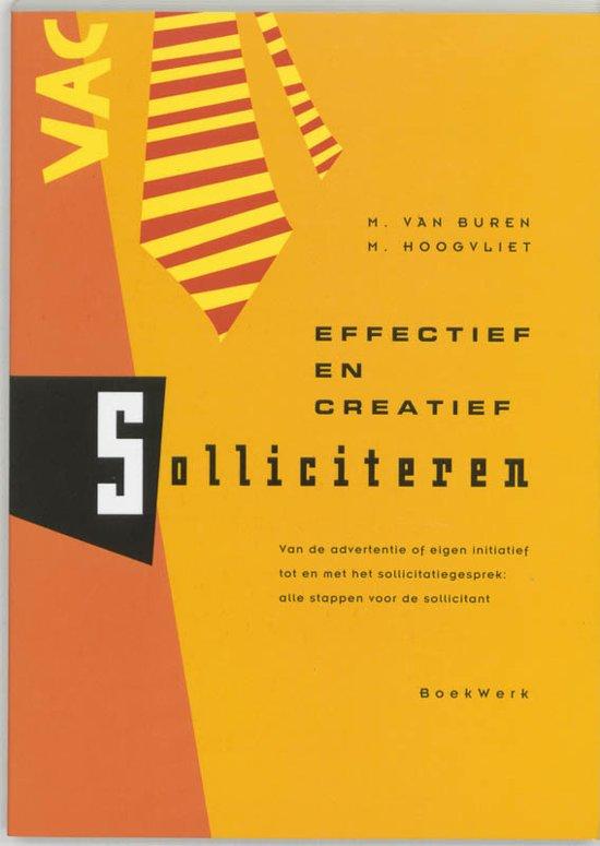 advertentie sollicitatie bol.| Effectief en creatief solliciteren, Michel van Buren  advertentie sollicitatie