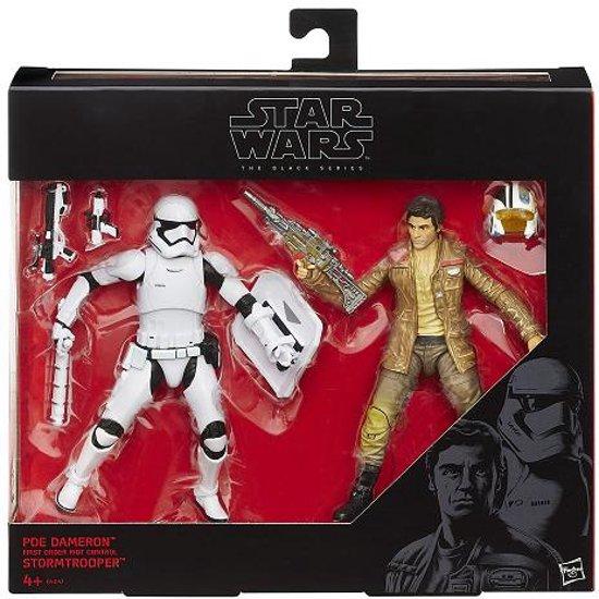 Black Series Action Figure 2-Pack 2015 Poe Dameron & Stormtrooper Exclusive 15 cm