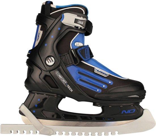 Nijdam Schaatsbeschermer - IJshockeyschaatsen - Kunstschaatsen - Zilver - Grijs