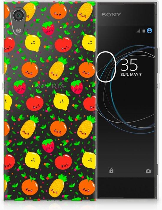 Sony Xperia XA1 TPU Hoesje Design Fruits