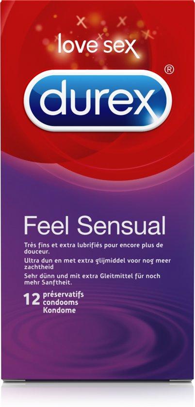 Durex Feeling Sensual Condooms 12 Condooms