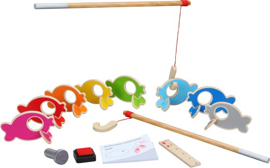 Afbeelding van het spel Vissen Vangen Hout - Kinderspel
