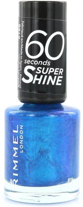 Rimmel London 60 seconds supershine Nagellak - 520 Azure