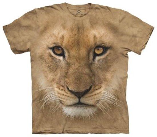 T-Shirt - Big Face Lion Cub (Maat: XXL)