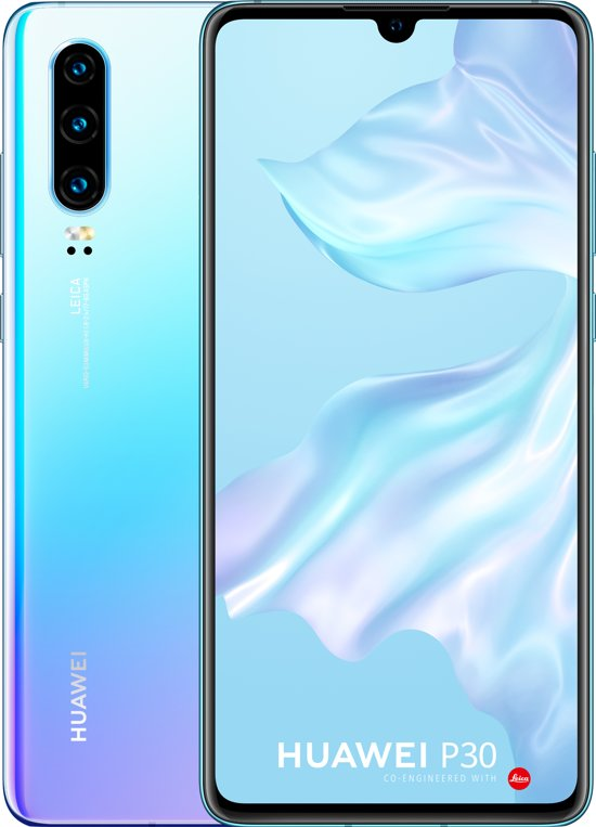 Huawei P30 - 128GB - Blauw (Breathing Crystal)