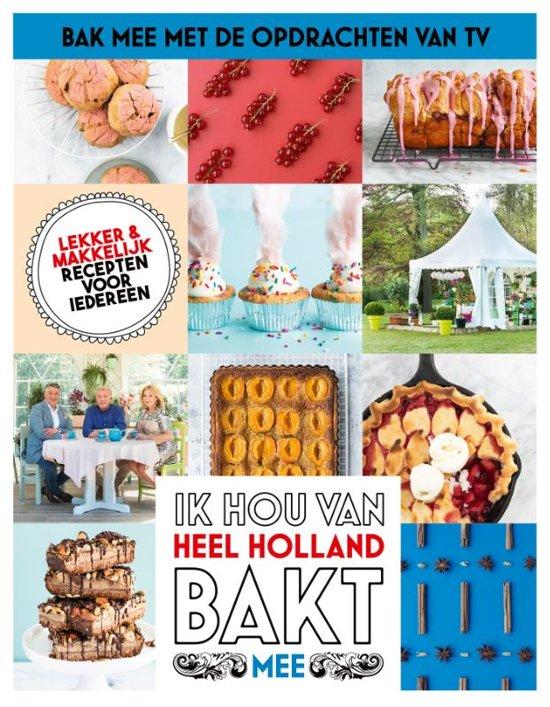 Boek cover Heel Holland Bakt mee-Seizoen 2019-2020 van Diverse auteurs (Hardcover)