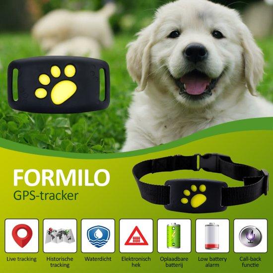 GPS Tracker Huisdieren - Tracker Systeem Voor Hond en Kat - Inclusief Tracking App - Wereldwijd Bereik