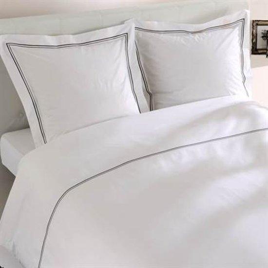 Snoozing Nice dekbedovertrek White 1-persoons (140x200/220 cm + 1 sloop)