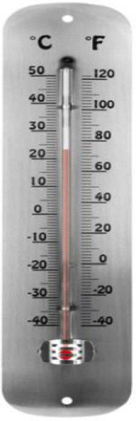 Buitenthermometer - metaaldesign