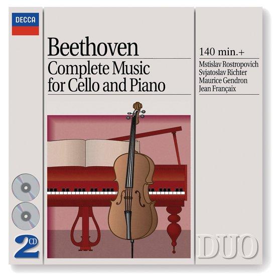 Cello Sonata (Complete)/Variation Op66/Woo46/Woo45