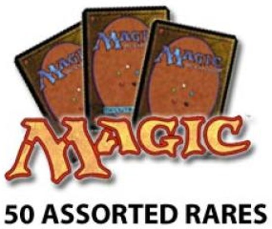 Magic The Gathering: A collection of 50 assorted rares