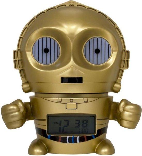 Bulbbotz Wekker Star Wars C-3po 14 Cm Goud