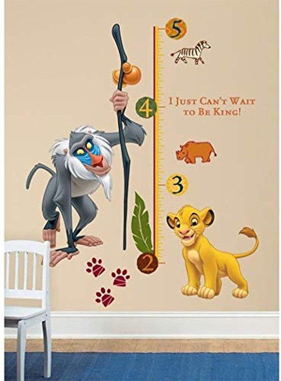 Stickers Kinderkamer Disney.Bol Com Roommates Disney The Lion King Muurstickers Multi