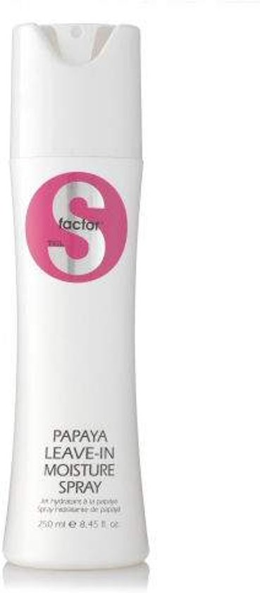 Tigi S-Factor papaya leave-in moisture spray 250ml