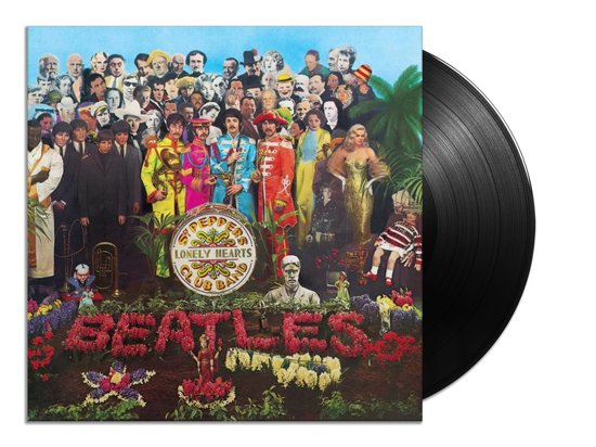 CD cover van Sgt. Peppers Lonely Hearts Club Band Anniversary Edition (LP) van The Beatles