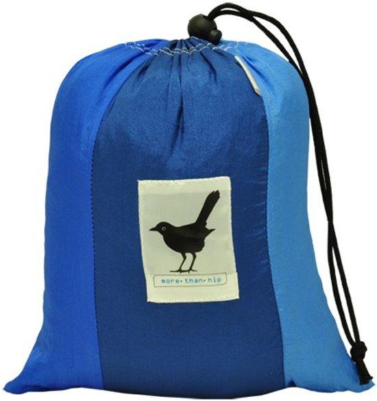 MoreThanHip - Reis Hangmat - Donkerblauw/Turquoise
