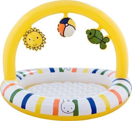 Nijntje Opblaasbaar Baby Zwembad, met 3D Speelfiguren | Diameter 80 Cm. | Geschikt voor Baby's vanaf: 6 maanden.