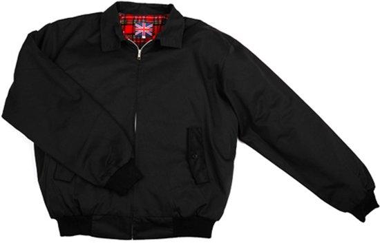Jacket Voering U Zwart Harrington Geruite Met k xFwqqZEg0