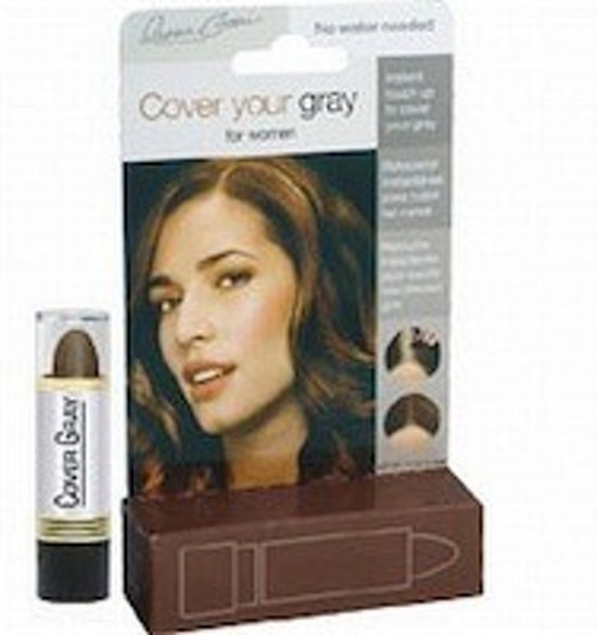 Cover your Grey Touch Up Stick - Midden Bruin