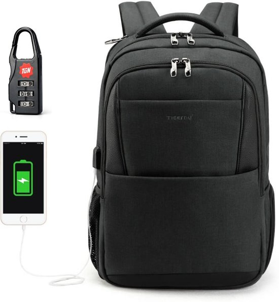dd0cb36bfd3 bol.com | Tigernu Allround - laptop rugzak - anti diefstal usb - 12 ...