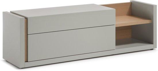 LaForma DE - Tv-meubel - Grijs - Hout