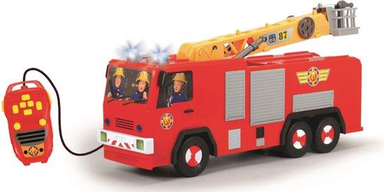 bol brandweerman sam jupiter rc vrachtwagen