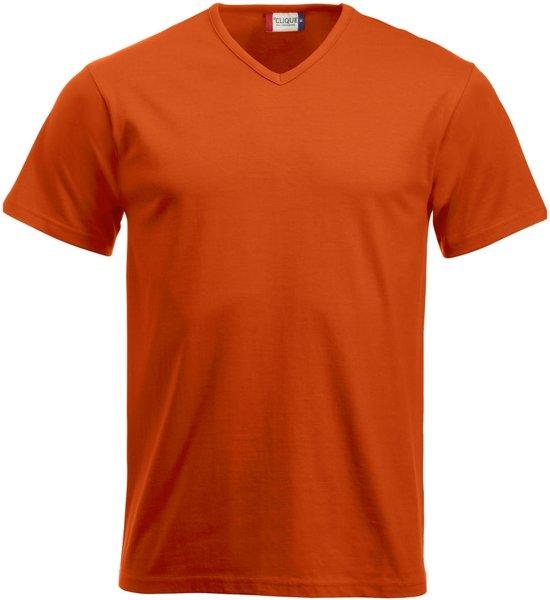 Fashion-T V-neck T-shirt 160 g/m² diep oranje xl
