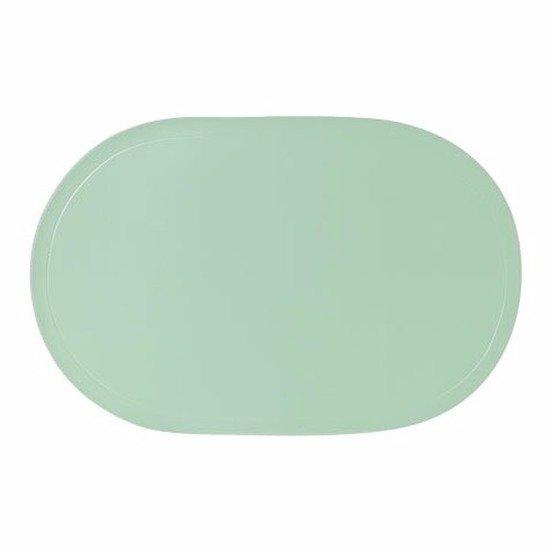 Cosy & Trendy Placemat - Ovaal - mint groen - 43 x 28 cm