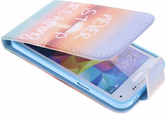Ancre Conception Booktype Case Tpu Pour Samsung Galaxy S5 Mini HJWnlD