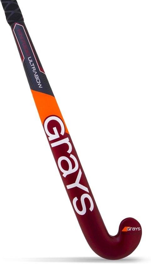 Grays KN7000 UltraBow Hockeystick - Sticks  - rood - 37,5 light