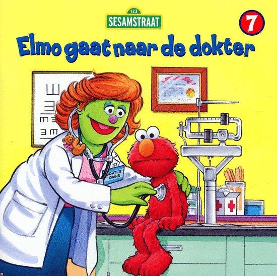 Boek cover Elmo Gaat Naar De Dokter van Sarah Albee (Onbekend)