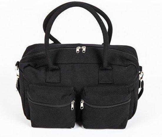 Adventure Bags - Schoudertas - Cotton - Zwart