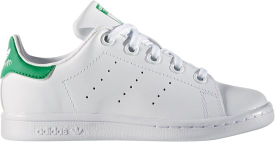 adidas Stan Smith C Sneakers Kinderen - Ftwr White/Ftwr White/Green