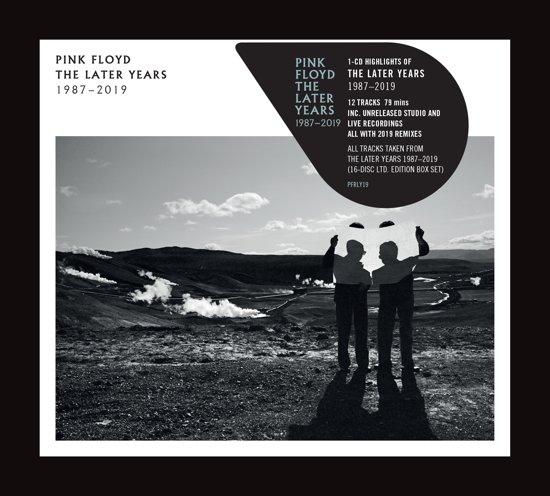 CD cover van The Best Of The Later Years 1987 - 2019 van Pink Floyd