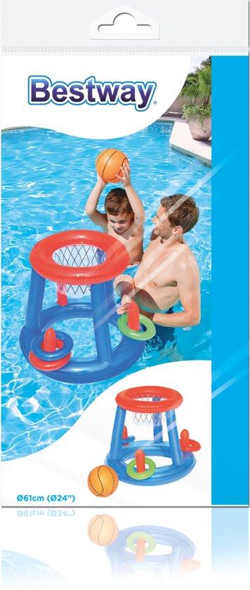 Opblaasbaar Basketbal/Play Set